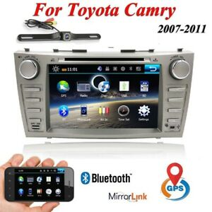 For Toyota Camry 2007 2008 2009 2010 2011 Car Dvd Gps Stereo 8 Radio Head Unit