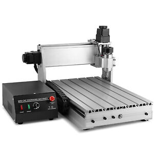 Usb Cnc Router Engraver Engraving Machine Cutter 3040t Carving Artwork 4 Axis