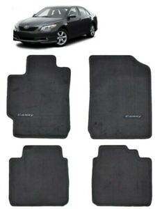 2007 2011 Camry Floor Mats Carpet Charcoal Oem Genuine Toyota Pt206 32060 12