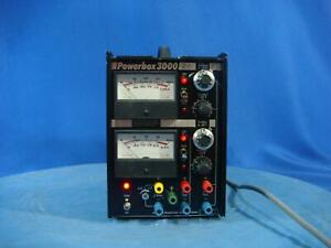 Powerbox 3000 5 0 40 0 20 Vdc 3 1 25 2 5 A Regulated Dc Power Supply