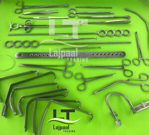 Tonsillectomy Set Of 27 Pcs Surgical Orthopedic Instruments Grade A By Lajpaal