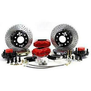 Baer Brakes 12 Inch Rear Ss4 Brake System With Red Calipers Red 4402000r