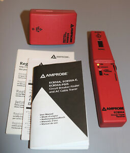Amprobe Ecb50a Circuit Breaker Finder And Ac Cable Tracer