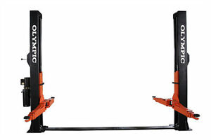 Commercial Quality 10 000 Lb 2 Post Extra Wide Floor Plate Car Truck Lift Hoist