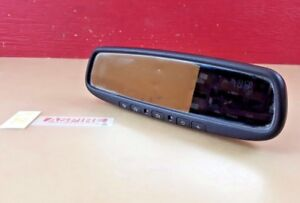 2008 2012 Infiniti Ex35 Auto Dim Rear View Mirror W Compass And Home Link Oem