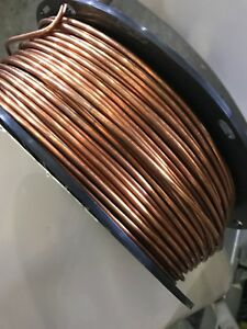 Southwire Soft Annealed Ground Wire Solid Bare Copper 6 Awg 315 Feet 25 Lb New