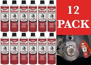 12 Pack Crc 05089 Brakleen Brake Parts Cleaner 19oz Cans New Free Shipping Usa