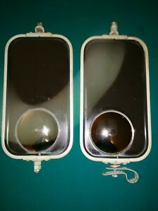 Pair Of Vintage Original Ford Truck Tow Mirrors 6 X11