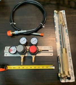 new free Co2 Gauges Harris Cutting Torch 62 5 free Hose For Gauges
