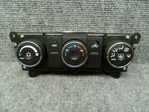 2007 2008 2009 Suzuki Grand Vitara Ac Heat Switch Climate Control Unit