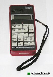 Quest M 28 Noise Logging Dosimeter 30 146 Db With Ul Intrinsic Safety