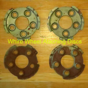 1951 1952 1953 Oldsmobile Cadillac Buick Wire Wheel Hubcaps Mounting Plat