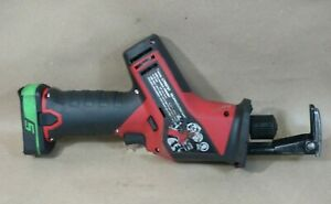 Snap On 14 4v Cordless Reciprocating Saw Ctrs761 Lithium Ion Battery Ctb8172g