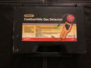 General Tools Portable Combustible Gas Leak Detector Ngd268