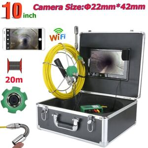 10 Hd Wifi Wireless 22mm Industrial Pipe Sewer Inspection Video Camera System