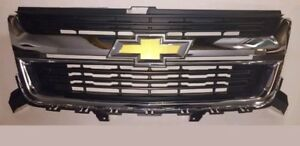 2015 2016 2017 2018 Chevy Colorado Chrome Front Grille Oem Take Off