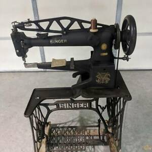Singer 29k 72 Long Arm Sewing Machine Patcher Cobbler Leather Big Bobbin