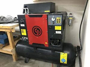 Chicago Pneumatic Cpn5 Rotary Air Compressor