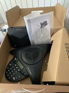 Polycom Soundstation 2w Ex Dect 6 0 2200 07800 160 New Open Box With Mics New Ob