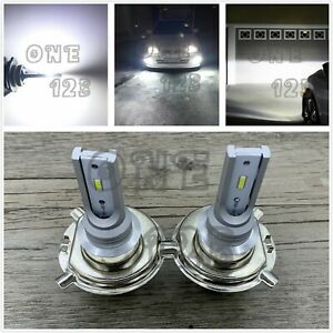 H4 9003 Hb2 Csp Led Headlights Bulb Kit High Low Beam 6000k White Plug And Play