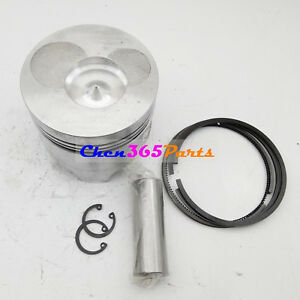 Piston Kit For Yanmar Diesel Engine Generator L100 186f 10hp