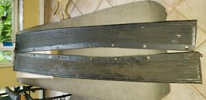 Nos 1942 1946 1947 1948 Ford Mercury Steel Running Boards Hard To Find