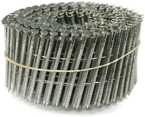 Timco Wire Collated Nails 2 3 16 X 090 Ss Ring 3600ct box Clearance Sale