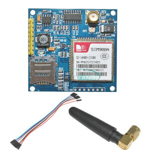 Sim900a 1800 1900 Mhz Wireless Extension Module Gprs Gsm Board With Antenna