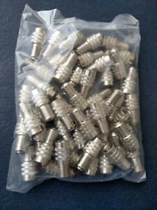 Alligator Tire Valve Stem Double Seal Caps 50 Pieces Made In Germany