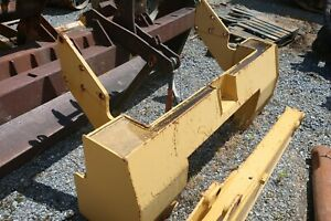 Used Cat 963 Crawler Dozer Rear Bumper