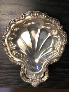 Countess 6248 International Silver Co Vintage Shell Dish Tray 8 X 6 1 4