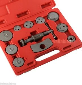 New 11pcs Disc Brake Caliper Piston Pad Car Wind Back Tool Kit