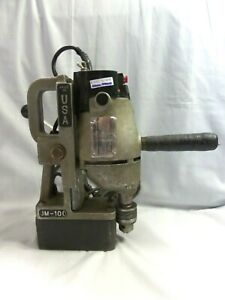 Jancy Jm 100 Slugger Magnetic Drill Press Made In The U s a fully Working