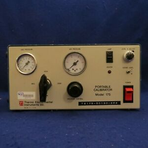 Thermo Environmental Instruments Inc Portable Calibrator Model 175 115 Volts