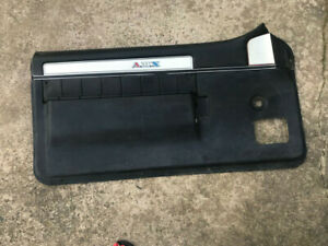 1971 1974 Javelin Amx Interior Drivers Side Door Panel Black