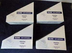 4 Uline Packing Tape Dispenser Guns H 596 3 inch Side Load New 3 H596 Lot Of 4