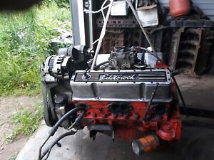 400 Small Block Chevy Engine Runs Great Complete Ready To Install Sbc
