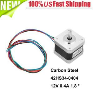 5x 32n cm 5mm Stepper Motor 12v 0 4a 1 8 4 Wire Cable For 3d Printer
