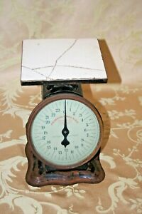 Antique Prudential Family Scale 24 Lb Grocery Store Type Scale Patent 1912