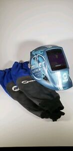 Miller Truckster Welding Helmet And Arm Sleeves