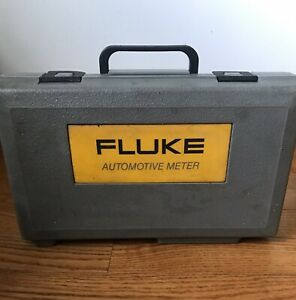 Fluke 88v Automotive Meter W Leads Accessories Hard Case Manuals