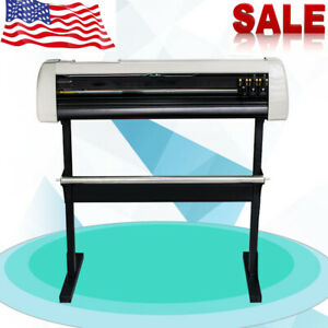 Best Sale 33 Sign Sticker Vinyl Cutter Plotter With Cut Plotter Function stand