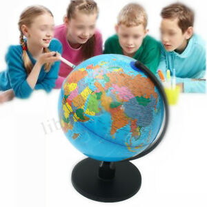 13 Rotating World Map S Table Decor Ocean Geographical Earth Desktop