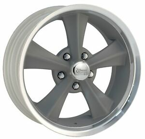 Rocket Racing Wheels Booster Rim 18x8 5x4 75 Offset 6 Gray Paint mach qty Of 1