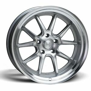 Rocket Racing Wheels Attack 18x7 5x114 3 Et12 7 Titanium Machined Qty Of 1