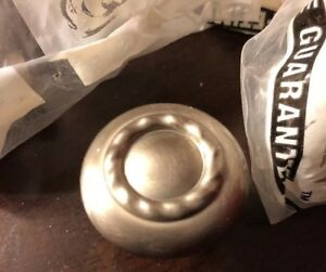 Round Chrome Silver Knob Pulls For Cabinet Drawer Amerock Set Of 10 Brand New