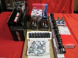 Chevy 283 Master Engine Kit Pistons Rings Gaskets Cam 1959 63 Special France