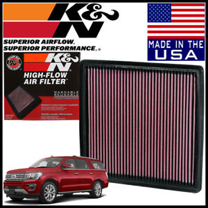 K n Replacement Air Filter Fits 2007 2019 Ford Expedition 3 5l V6 5 4l V8