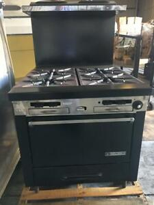 Garland Commercial 4 Burner Stove Oven Combo Natural Gas
