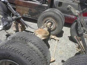 88 89 Chevy 3500 Pickup Rear Axle Assembly 6141